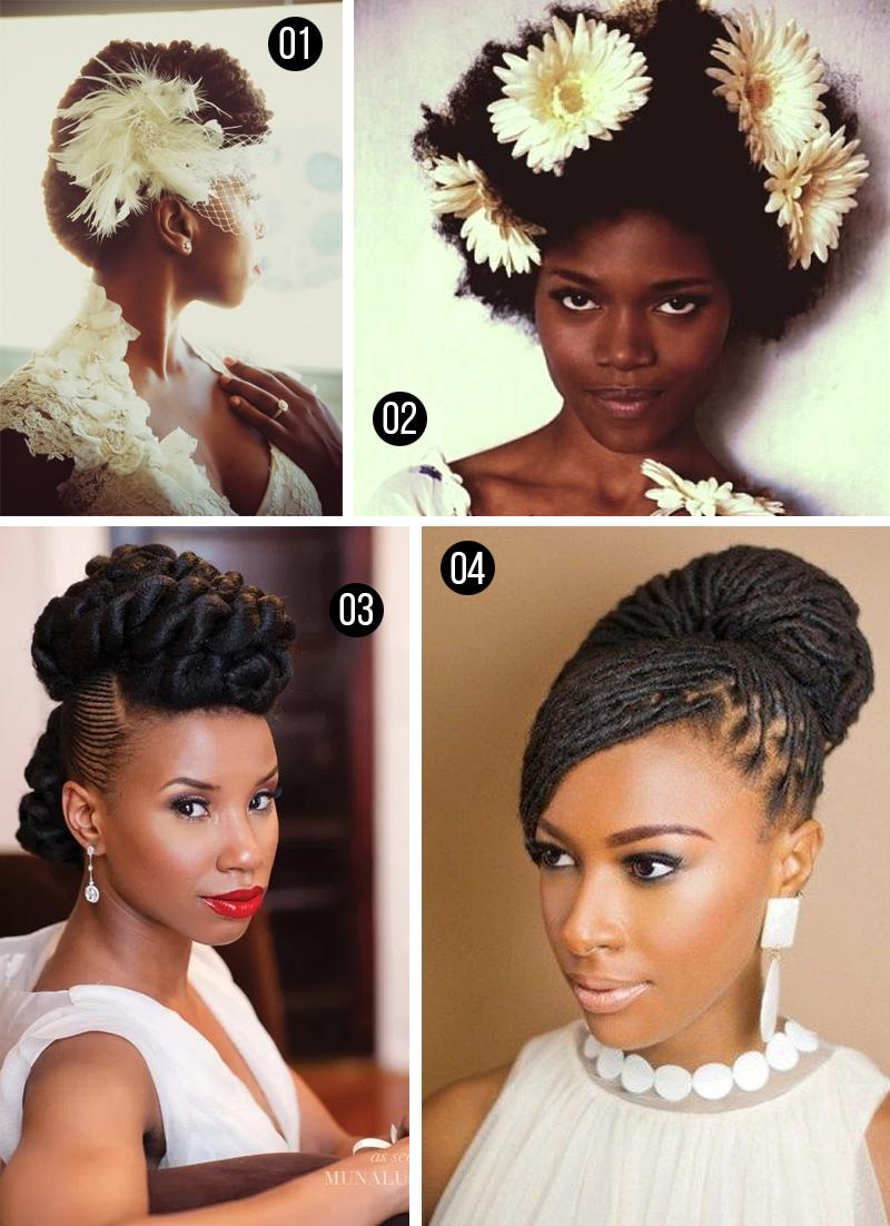 penteados para casamento mulheres negras