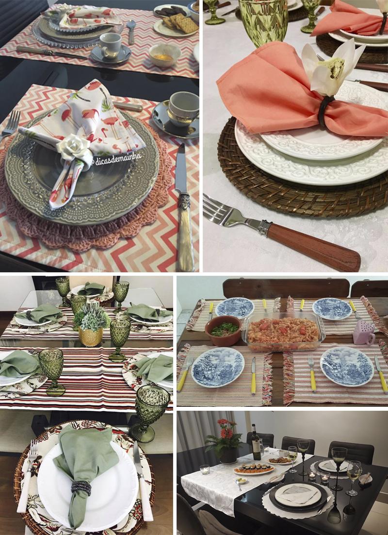 decoração de mesa em tons claros alunas do curso receber em casa e etiqueta a mesa
