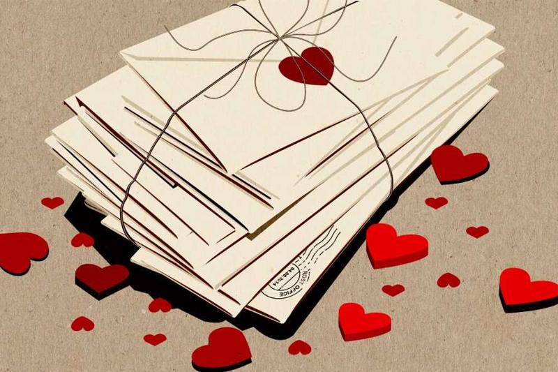ideias romanticas a moda antiga cartas