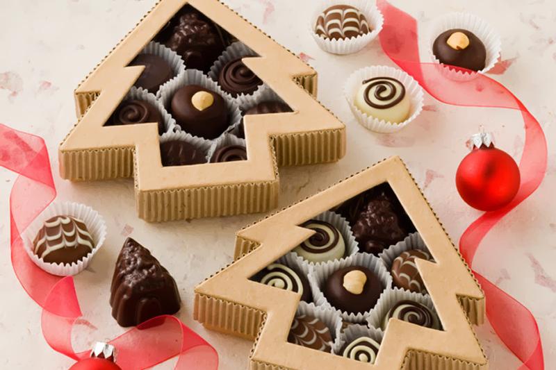 lembrancinhas de natal chocolate