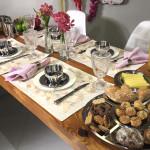 Mesa Posta de Primavera — Café da Manhã e Jantar!