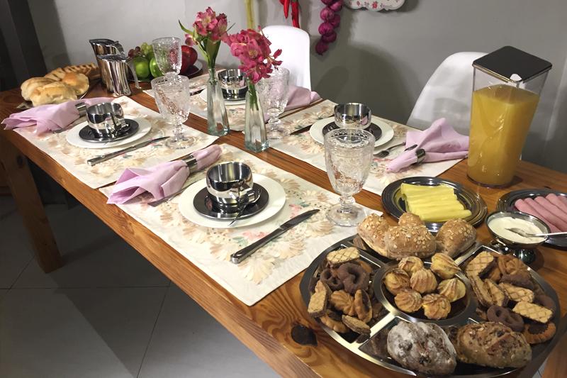 mesa posta primavera felizes para sempre cafe da manha
