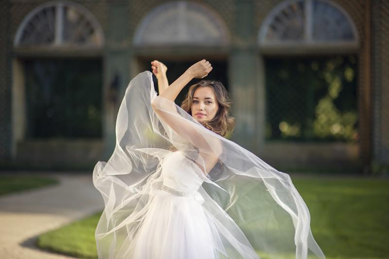 escolha um vestido de noiva confortavel