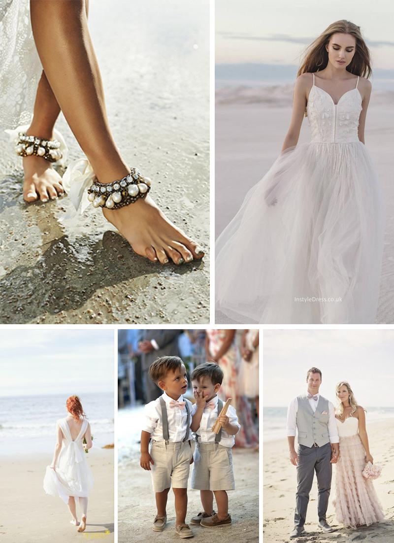 roupas para convidados e noiva casamento na praia