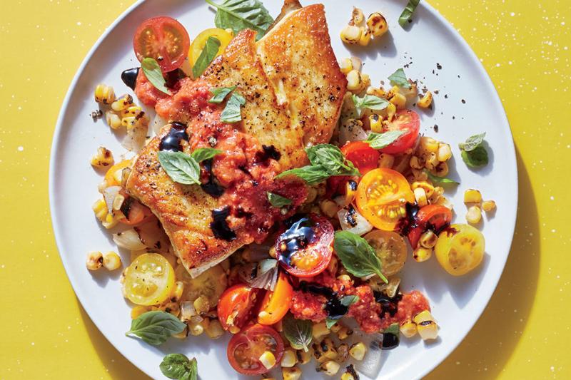 receita de peixe com legumes