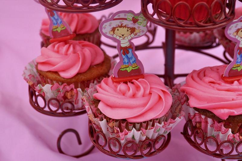cupcake da Moranguinho