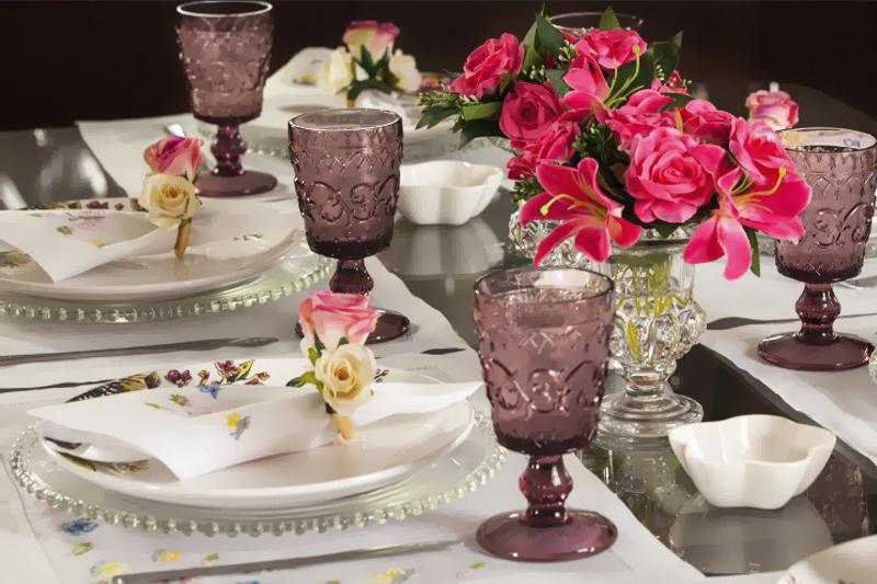 mesa posta elegante