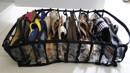 organizador de sapatilhas