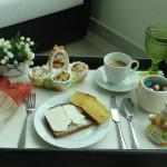 Café da Manhã na Cama: Bandeja de Páscoa