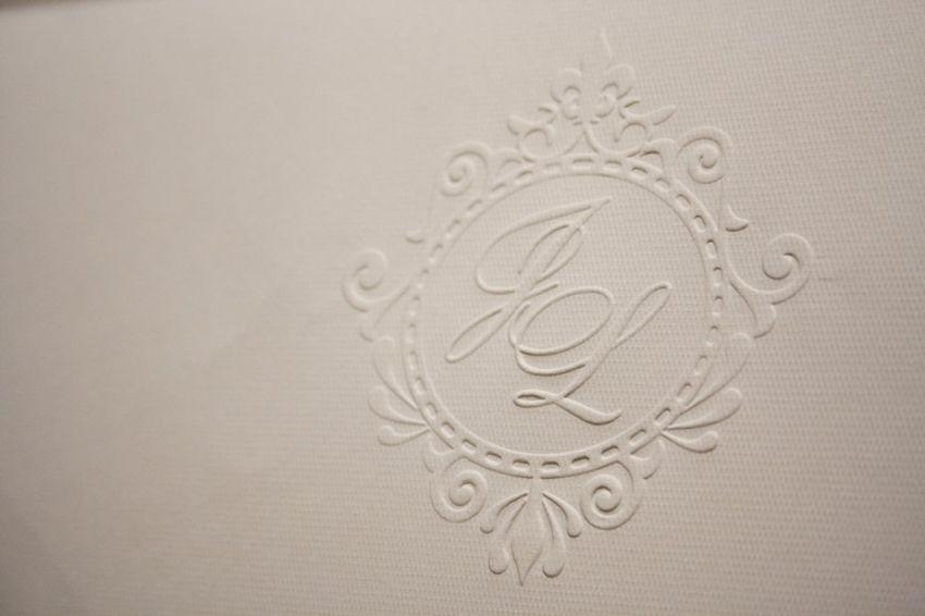 monograma para convite de casamento