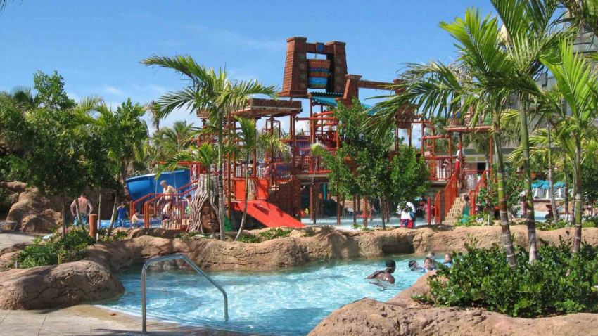 Aquaventure, Splashers Kid Zone, water slide