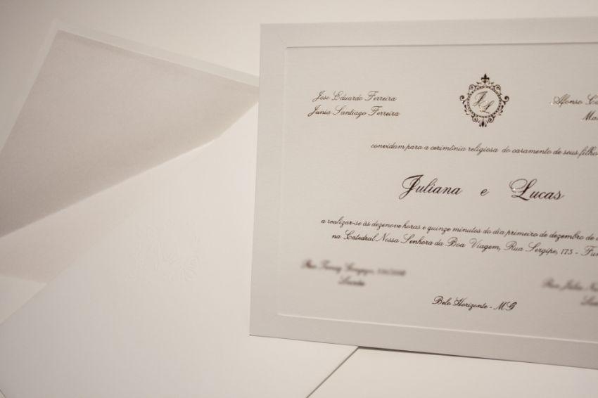 convite de casamento juliana vida de casada