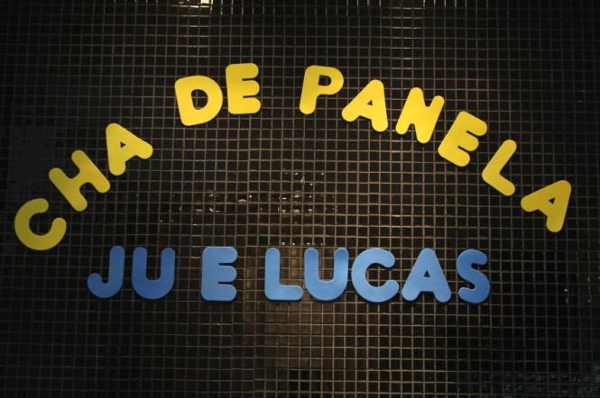 CHA DE PANELA JU E LUCAS
