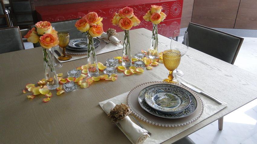 Mesa Do Dia Consultoria Na Casa Da Cliente Vida De Casada