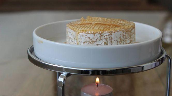 Rechaud de queijo brie