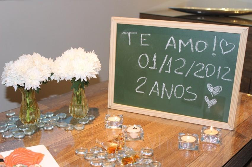 Jantar De Comemoração De 2 Anos De Casados Vida De Casada