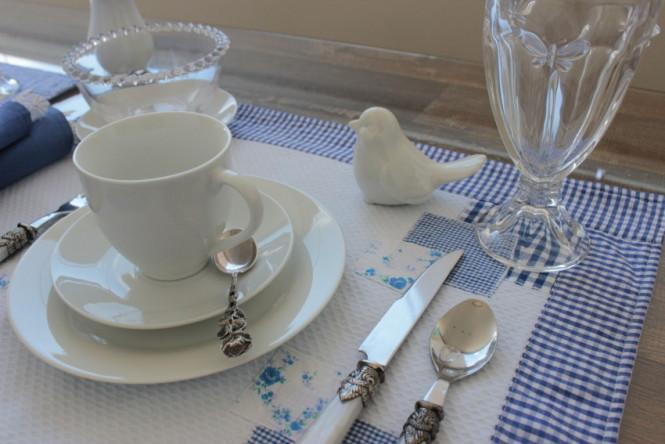 Decoração de mesa de café da manhã
