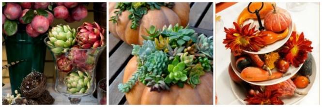 Ideias de arranjos ne mesa no outono (1)