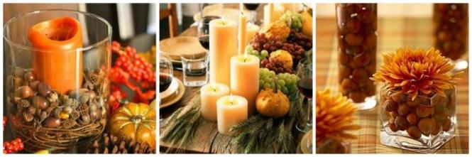 Ideias de arranjos ne mesa no outono (2)