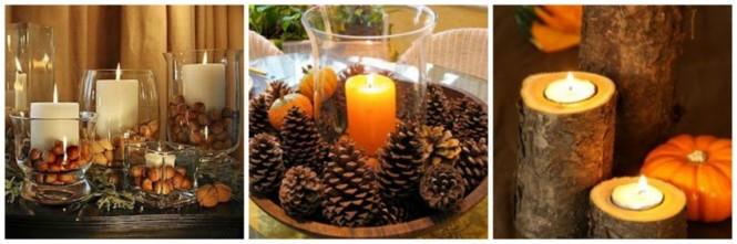 Ideias de arranjos ne mesa no outono (3)