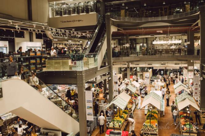 Visão geral do Eataly São Paulo