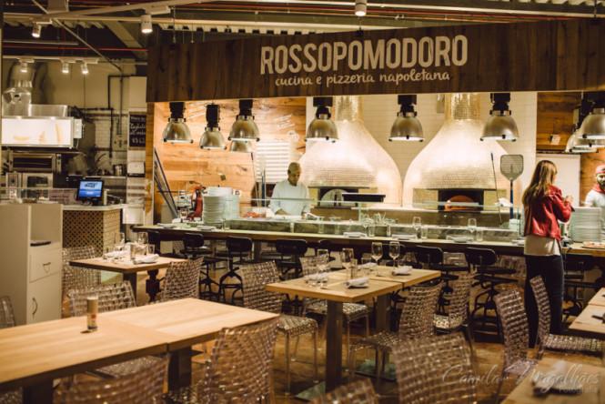 Rossopomodoro restaurante Eataly São Paulo
