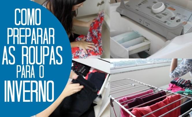 Capa - Como preparar as roupas inverno