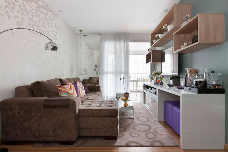 Dicas, ideias e truques de decoraç u00e3o de sala de estar Vida de Casada -> Vasos De Decoração Para Sala Pequena