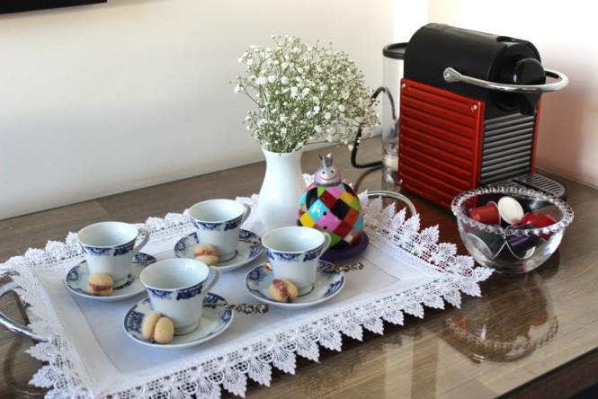 bandeja de café da tarde