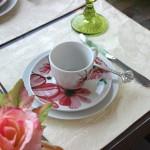 Decoração de chá da tarde – Rosa e Branca