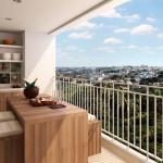 Varanda gourmet em apartamentos – Dicas de decoração!