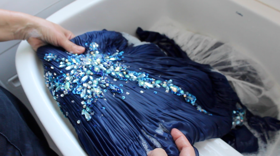 lavar vestido