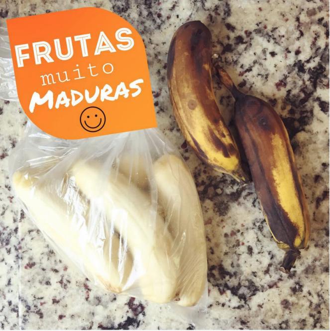 o que fazer com frutas maduras