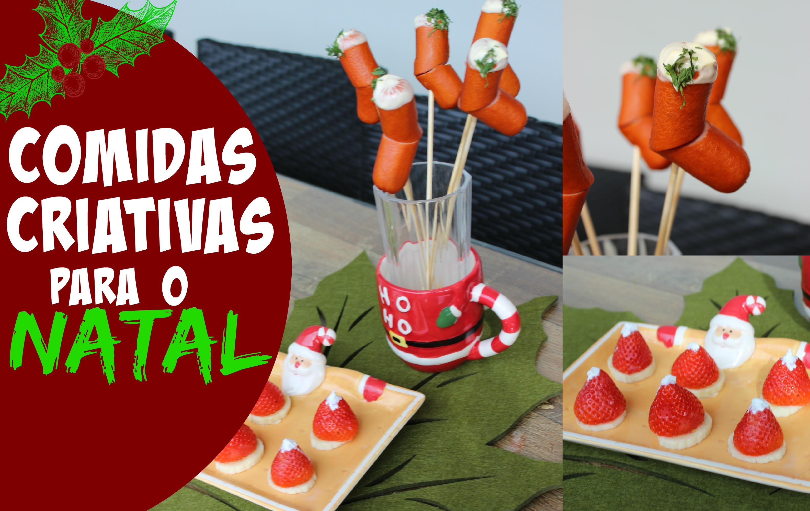 Capa - Comidas criativas Natal