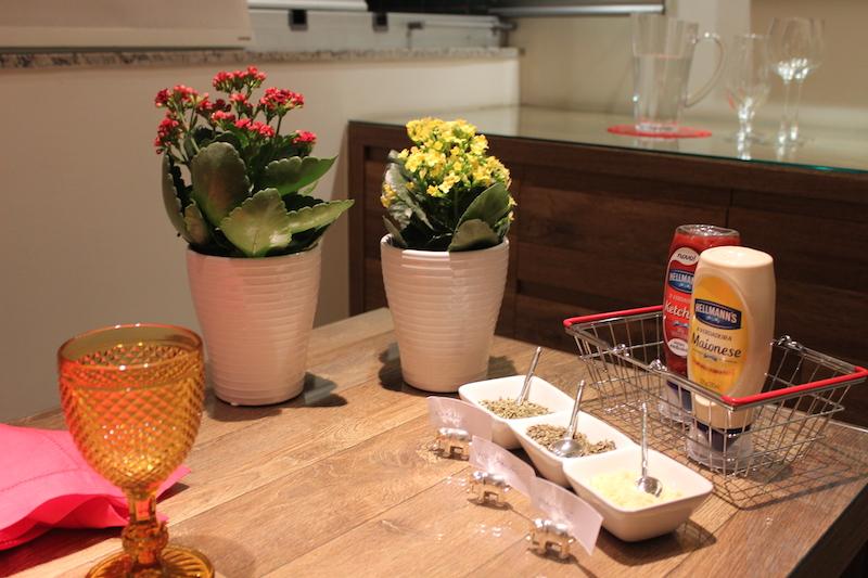 flores para decoração de mesa