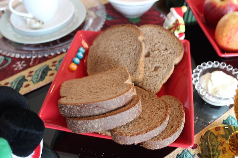 pão de forma integral australiano