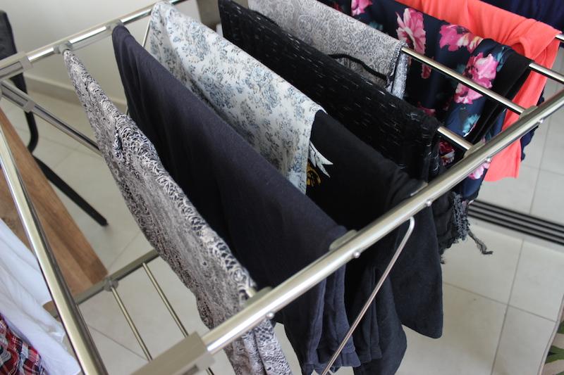 roupas no varal