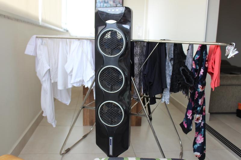ventilador para sercar roupas
