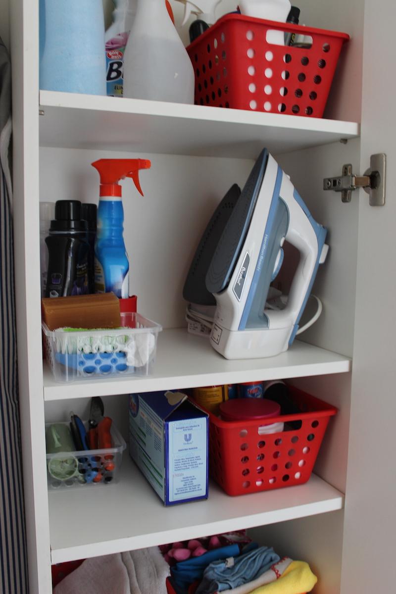 organizacao produtos de limpeza