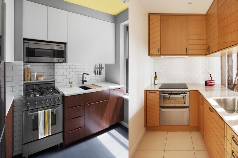 Revestimento de tijolo branco cozinha