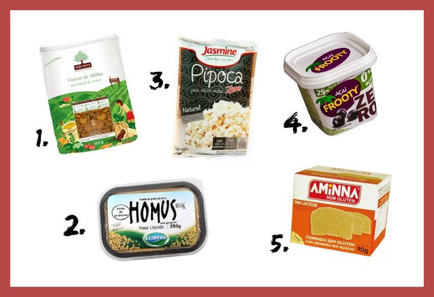 produtos sem gluten e sem lactose