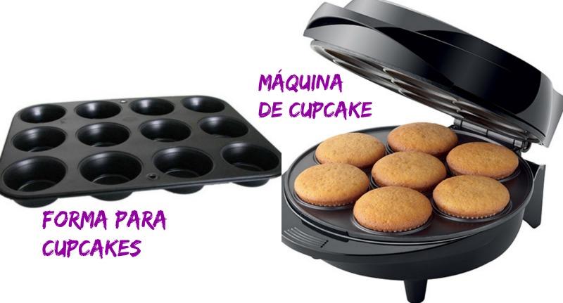 Forma para cupcake e maquina para cupcake