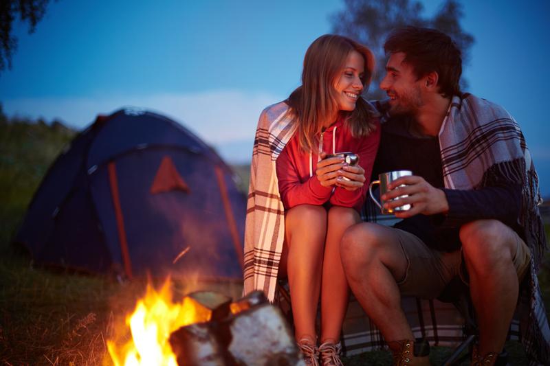 dia dos namorados camping