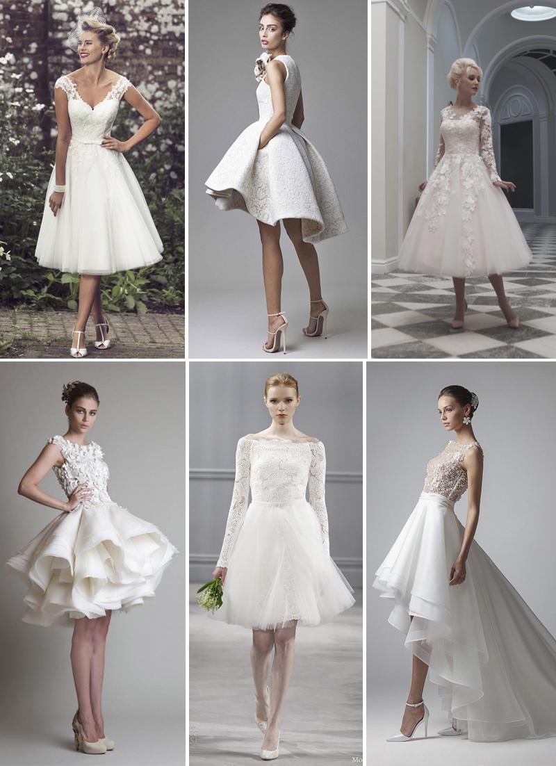 Vestidos De Noiva Para Casamento No Campo Curtos Vida De