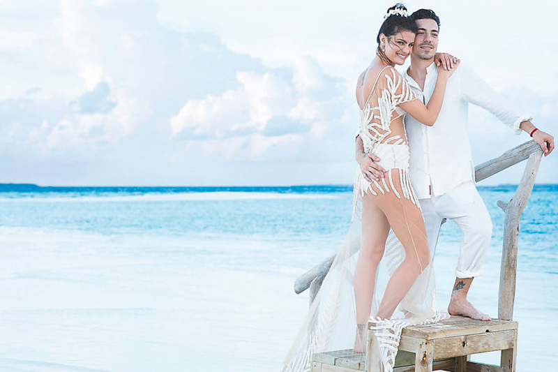 casamento na praia isabeli fontana e di ferrero