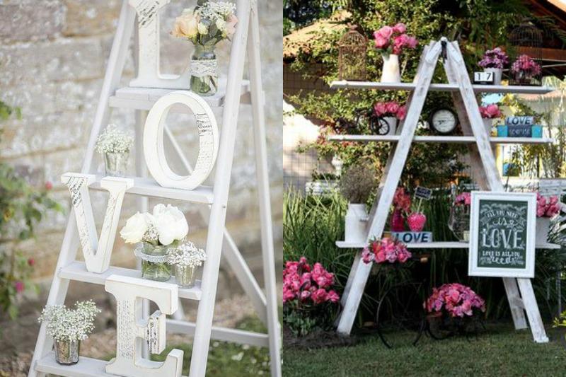 escada em casamento