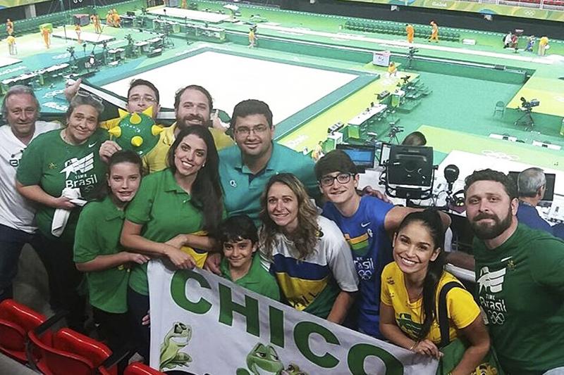 familias fofas das olimpiadas rio 2016 francisco barreto