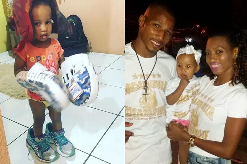 familias fofas das olimpiadas rio 2016 robson esposa e filha