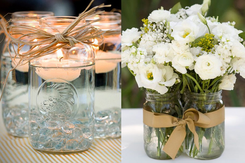 mason jars diy decoracao
