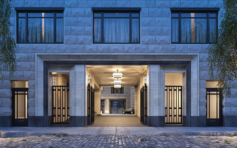 tour pelo apartamento gisele entrada
